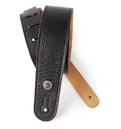 GARMENT LEATHER STRAP, BLK