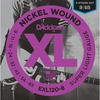 EXL120-8 NICKEL WOUND, 8-STRING, SUPER LIGHT, [9-65]
