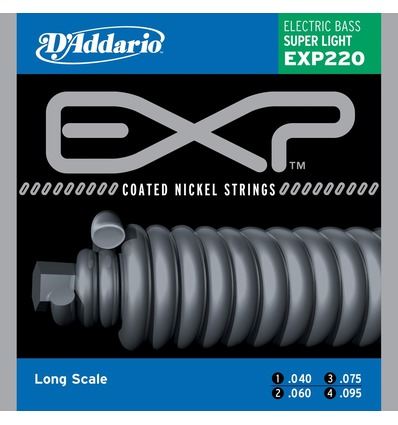 EXP220 COATED NICKEL WOUND SUPER LIGHT LONG SCALE [40-95]