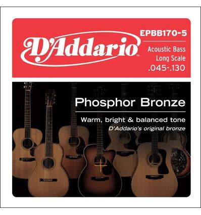 EPBB170-5 PHOSPHOR BRONZE 5-STRING LONG SCALE, [45-130]