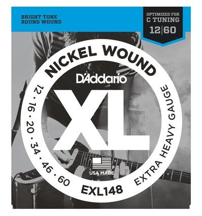 EXL148 NICKEL WOUND, EXTRA-HEAVY [12-60]