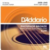 EJ41 12-STRING PHOSPHOR BRONZE, EXTRA LIGHT [9-45]