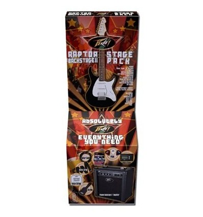 PEAVEY GUITARRA ELECTRICA RAPTOR PLUS STAGEPACK  SUNBURST