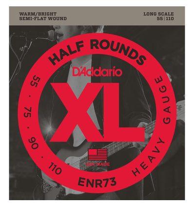 ENR73 HALF ROUNDS HEAVY [55-110] LONG SCALE