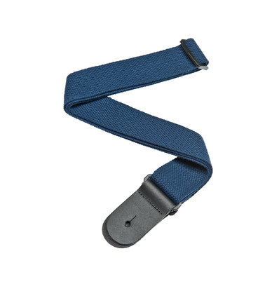 COTTON GUITAR STRAP BLUE