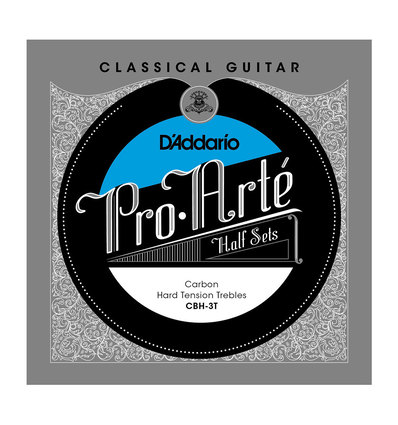 CBH-3T PRO-ARTE CLASSICAL HALFSETS CARBON HARD TENSION