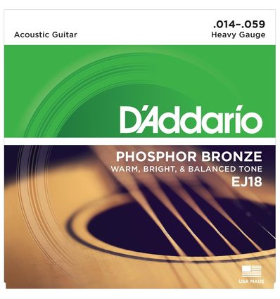 EJ18 PHOSPHOR BRONZE HEAVY [14-59]