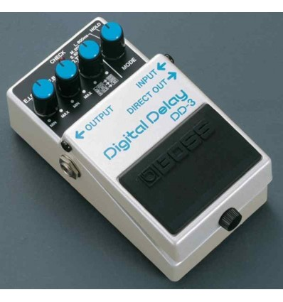 BOSS PEDAL GUIT. DELAY DD-3