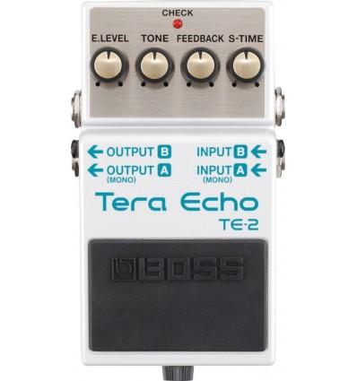 BOSS PEDAL GUIT. TERA ECHO TE-2