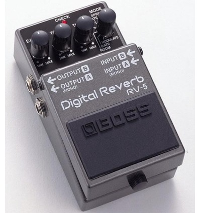 BOSS PEDAL GUITARRA REVERB RV-5