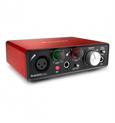 FOCUSRITE INTERFACE SCARLETT SOLO