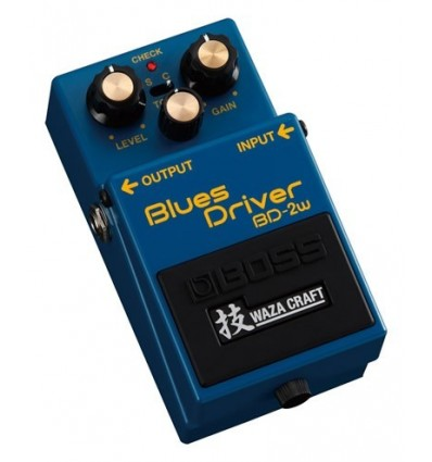 BOSS PEDAL GUITARRA BLUES DRIVER  WAZA CRAFT BD-2W