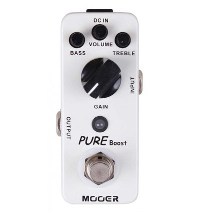 MOOER PEDAL GUIT. PURE BOOST