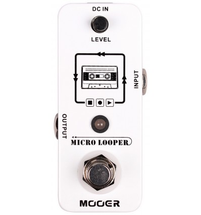 MOOER PEDAL GUIT. MICRO LOOPER