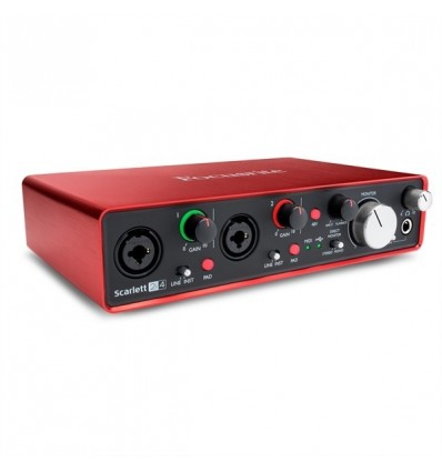 FOCUSRITE INTEFACE AUDIO USB SCARLETT 2I4 2ND GEN