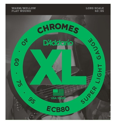 ECB80 CHROMES BASS, LIGHT, LONG SCALE [40-95]