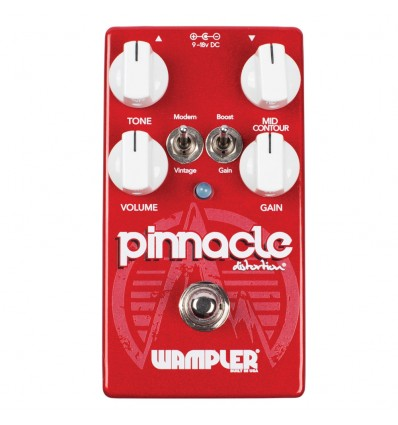 WAMPLER PEDAL GUITARRA DISTORTION PINNACLE