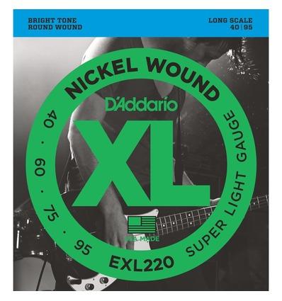 EXL220 XL NICKEL WOUND SUPER LIGHT [40-95]