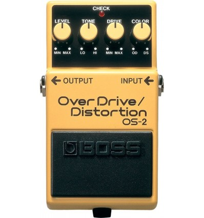 BOSS PEDAL OVERDRIVE DISTORSION OS-2